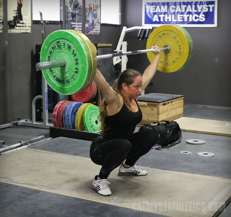 Greg Everett's top 5 assistance exercises for improving the snatch in Olympic weightlifting