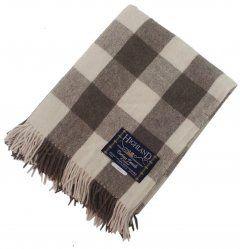 100% Scottish Wool Tartan Rug – Jacob Picnic Blanket