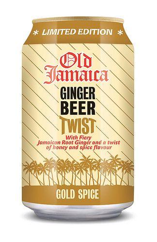 Old Jamaica Ginger Beer Twist, Gold Spice