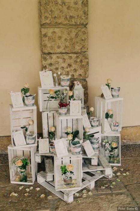 Tableau Matrimonio In Legno : Tableau de mariage: da semplice organizer a vero dettaglio creativo