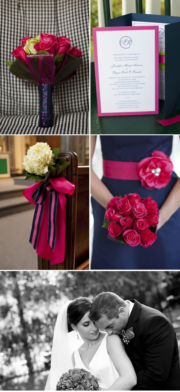 Pink-and-Navy-Weddings