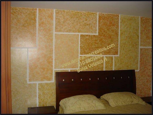 1000 images about seminario de texturas para muros on - Marcos para pared ...