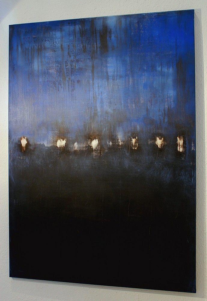 CHRISTIAN HETZEL: blue composition | Abstrakte Kunst | Art ...