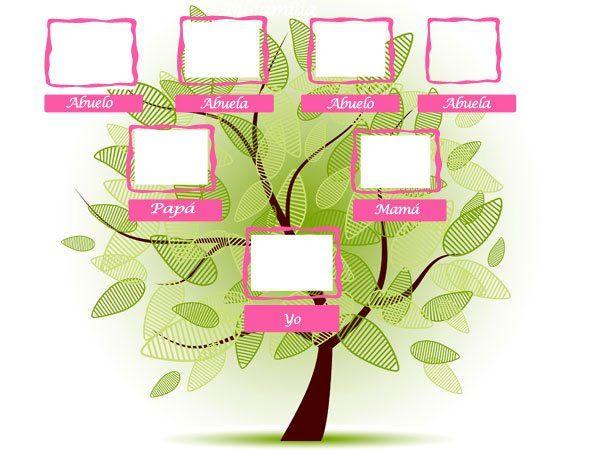 Árboles genealógicos para niños