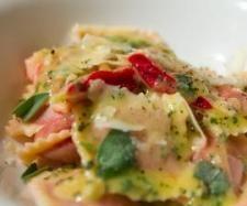 Roast beetroot ravioli with sage butter sauce - Recipe Community
