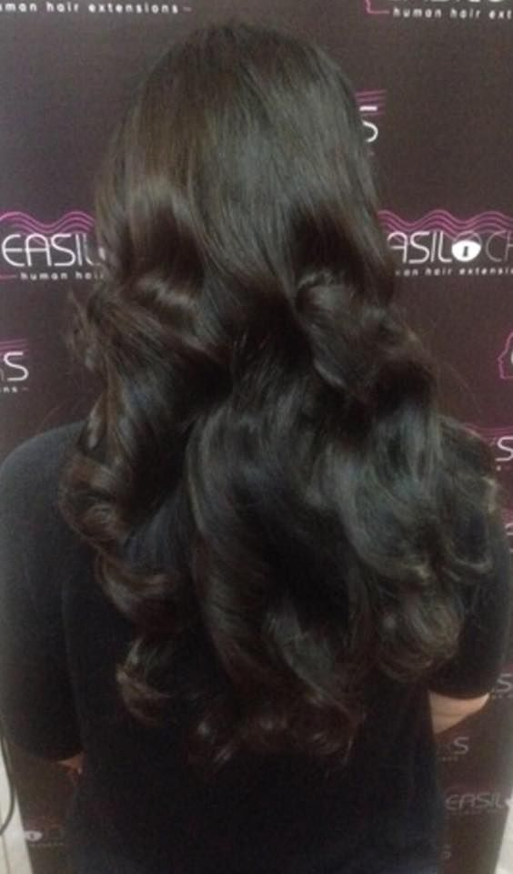 Gorgeous Easilocks hair extensions fitted at GG's, Plymouth! Call 01752 564639 for FREE consultation #easilocks #hair #extensions #plymouth https://www.facebook.com/ggshairextensionsplymouth/photos/pcb.914902781902021/914898295235803/?type=1