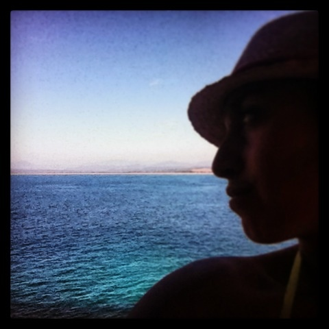 Look around yourself.... The sea