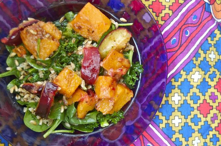 http://plumsintheicebox.typepad.com/plums-in-the-icebox/2013/03/roasted-butternut-squash-plum-salad.html#  squash and plum salad