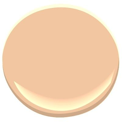 Benjamin moore creamy orange pleasingly peach hue with a yellow undertone that compliments skin - What color complements orange ...