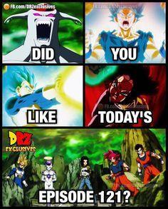 Did you like Today's Episode?  Follow. @_officialdragonballsuper  .  Double Tap to Like.  Comment Below. . Tag your Friends  . .  [Ignore Tags]  #DB #DBZ #DBS #DragonBallZ #DragonBallSuper #Anime #Manga #Goku #Vegeta #Gogeta #Vegito #Saiyan #Gohan #SonGoku #Trunks #BattleOfGods #Funimation...