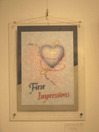 """""""First impressions F"""" (作者 F.S)"""