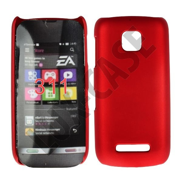 Hard Shell (Rød) Nokia Asha 311 Cover