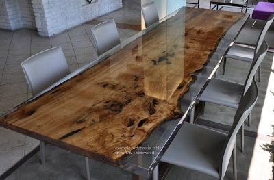 teriswood: examples of resin table order UK 2016