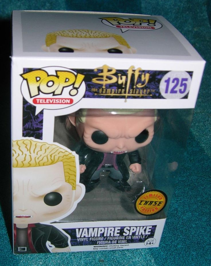 FUNKO POP VAMPIRE SPIKE LIMITED CHASE EDITION BUFFY THE VAMPIRE SLAYER RARE  #FUNKO
