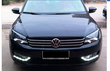 636.38$  Watch now - http://alidpv.worldwells.pw/go.php?t=32759017518 - Auto Lighting Style Daytime Running Light for VW Passat B7 LED DRL 2012-2014 US Type led driving fog lamp cover 0.5W LED lights
