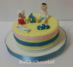 Çocuk ve Ayıcık Pastası