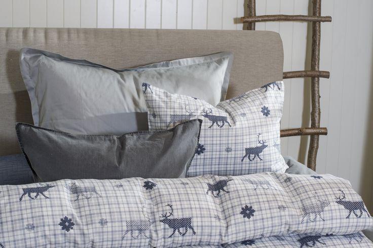 Deilig flanell i sengen er deilig på kalde høst- og vinternetter.