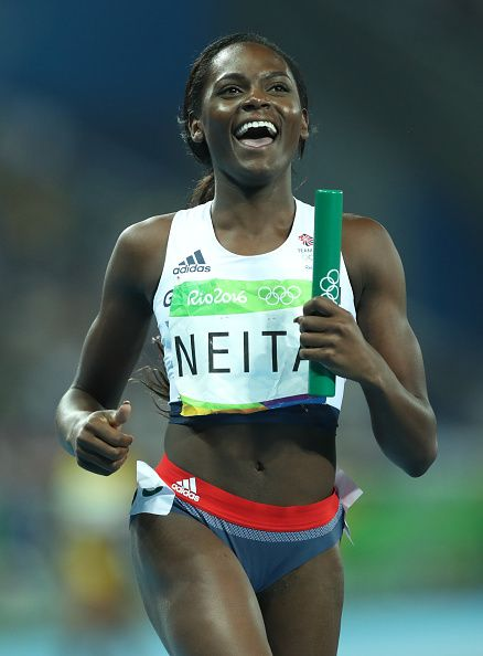 Daryll Neita anchors Great Britain to Bronze in the Women's 4 x 100m Final on…