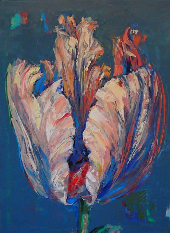 Tulip by ARTAnhelHahamus on Etsy