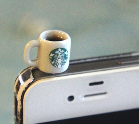Starbucks Coffee Phone Plug – $20