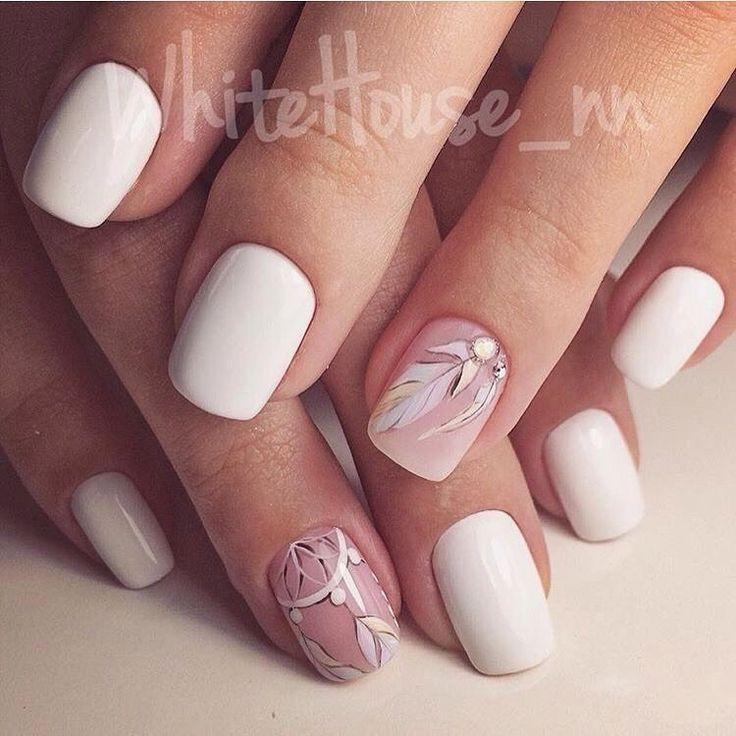Beautiful nails 2017, Beautiful summer nails, Bright summer nails ideas, Cool…