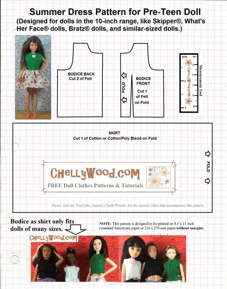 327 best Barbie DIY Projects images on Pinterest Barbie, Barbie - one inch margins