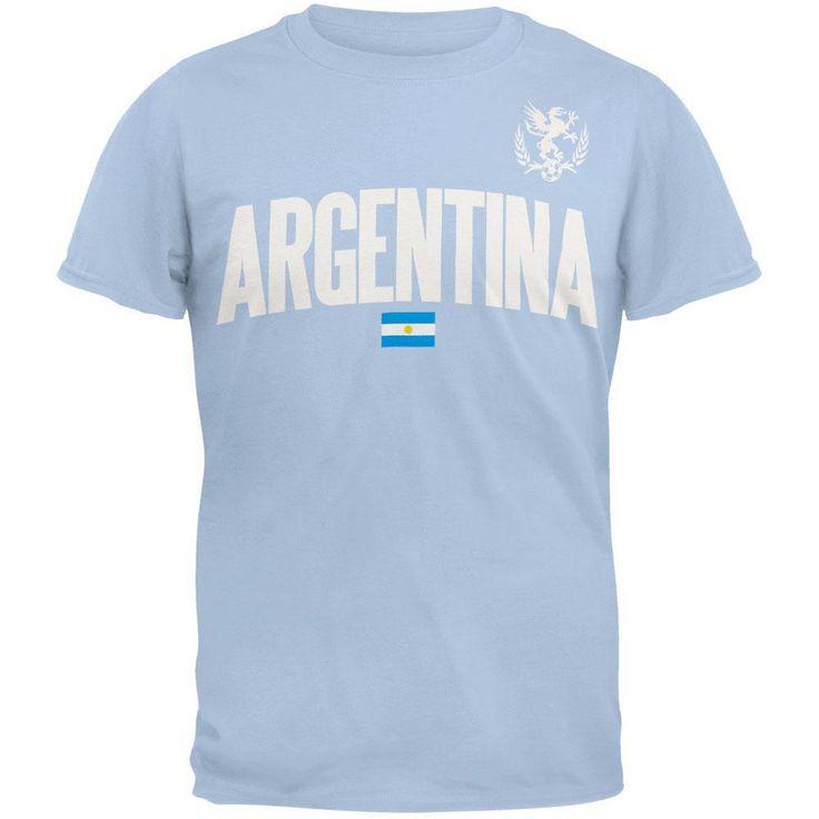 Argentina Flag Soccer T-Shirt