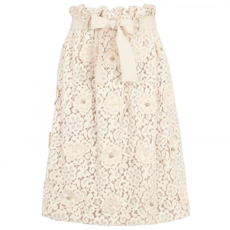 High waist lace skirt, Knee length, Harvey Nichols X