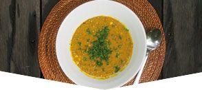 Crema di lenticchie - dhal