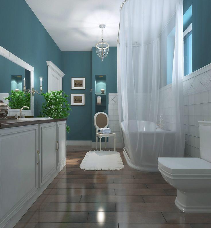 Элегантный бриз - Лучший 3D-интерьер ванной комнаты | PINWIN - конкурсы для архитекторов, дизайнеров, декораторов