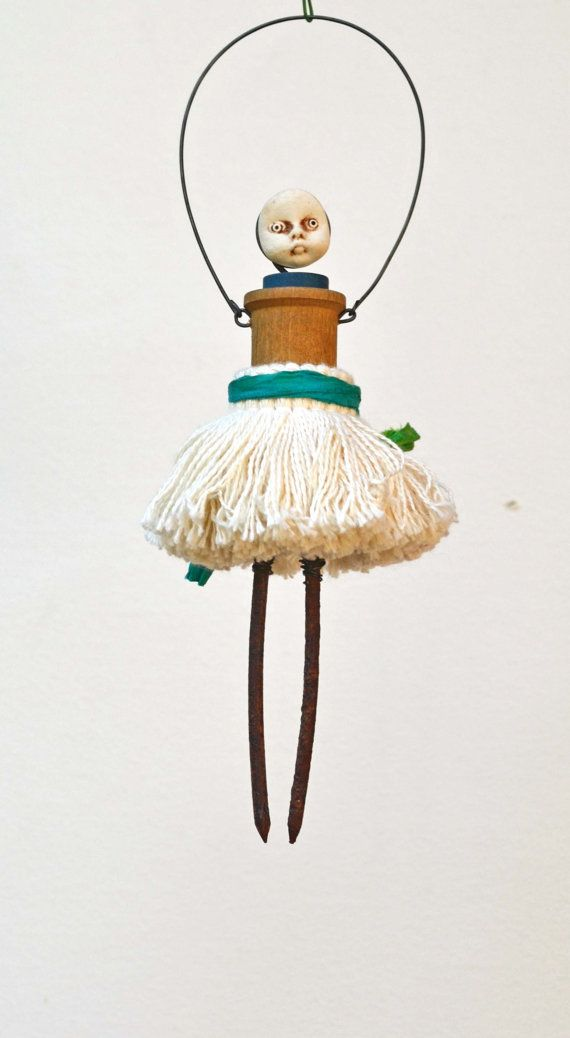 great... another potential craft-distraction. love the nail-legs