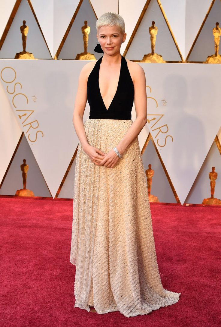 Michelle Wiliams channels Seberg at Oscars 2017