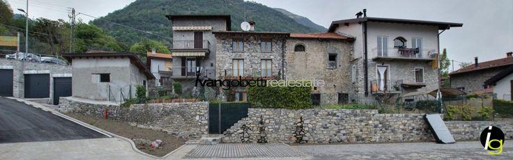 Villa in Ossuccio with the view of Lake Como