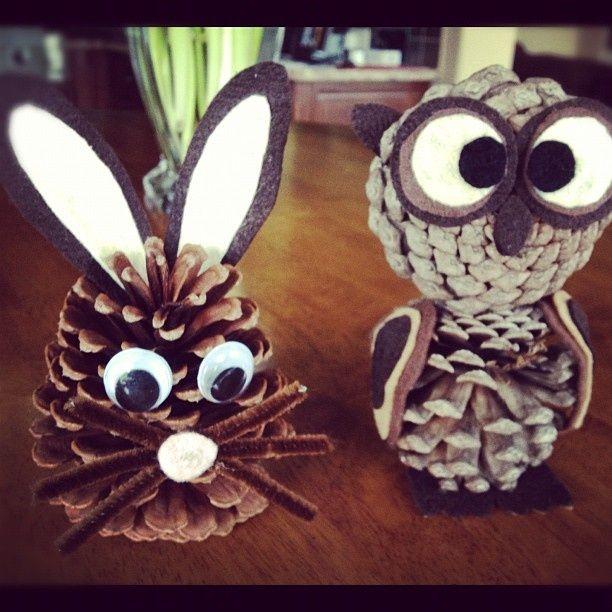 Plus de 30 idées de décoration de Noël à faire avec des cocottes de pins! - Bricolages - Des bricolages géniaux à réaliser avec vos enfants - Trucs et Bricolages - Fallait y penser !