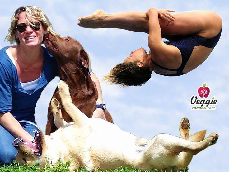 """Un'importante testimonianza di una tuffatrice della squadra nazionale italiana: """"Maria Marconi, amore per lo sport e per gli animali"""": Clicca sul link per il VIDEO e condividi se ti è piaciuto: http://veggiechannel.com/video/personaggi-famosi-mondo-vegan/maria-marconi-amore-per-lo-sport-e-per-gli-animali"""