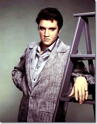 Elvis Presley young sexy stare