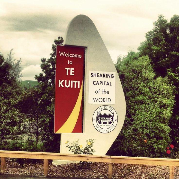 Te Kuiti - shearing capital of the world #NewZealand #Aotearoa #NZ