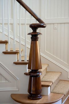 Traditional Home Stair Runner Design, Pictures, Remodel, Decor and Ideas - page 24