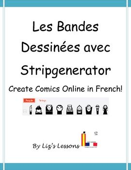 Incorporate student interest and technology with this activity for practicing writing by creating comic strips in French at http://stripgenerator.com/. Check out the site! Includes ideas for using comics in your class, student directions with screenshots, a requirement checklist, and a rubric. My students loved it!