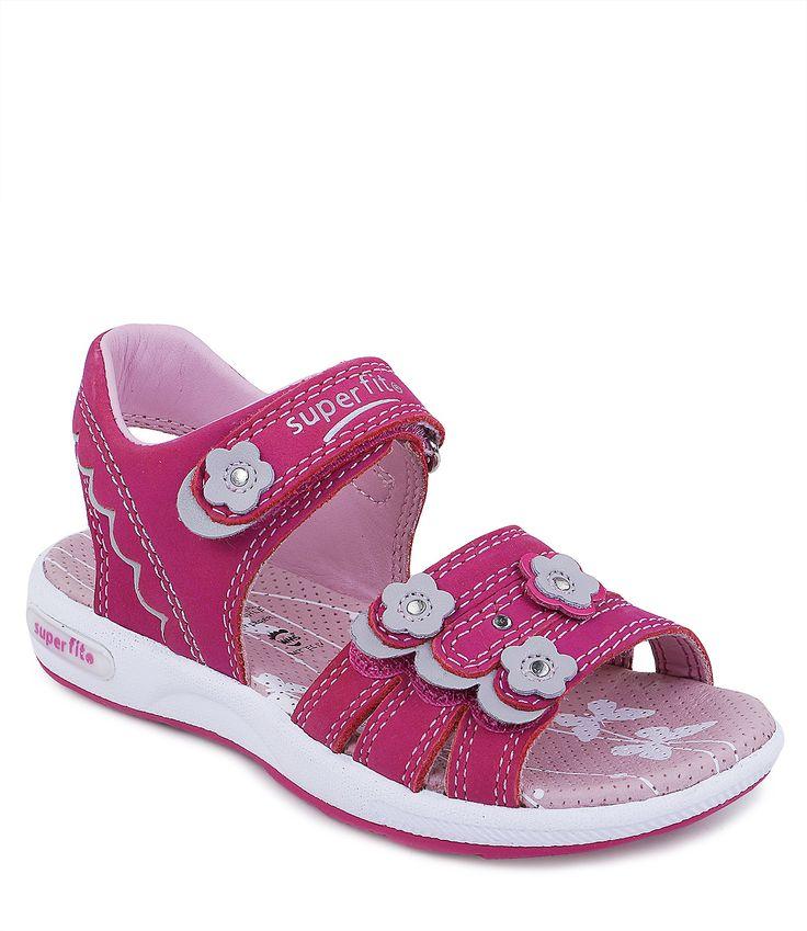 Сандалии открытые для девочки летние розовые - купить в интернет-магазине Kinderly - артикул SP-4-00133-63