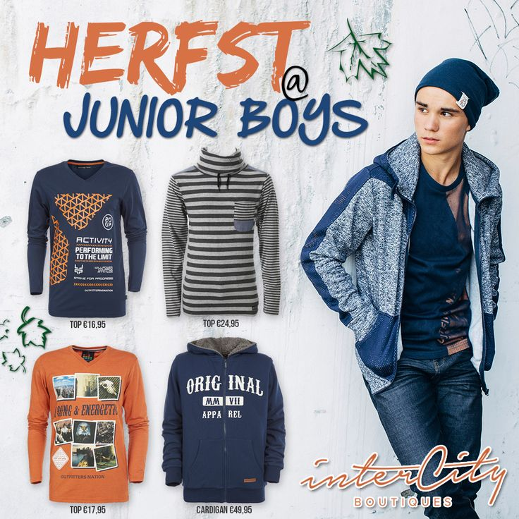 Intercity Boutiques: 'Herfst @ junior boys'