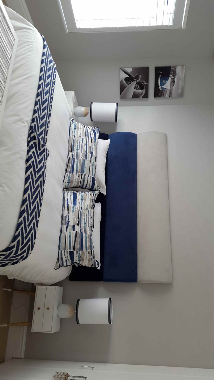 Decorated by IVR Interiors & Décor - Blues and Whites