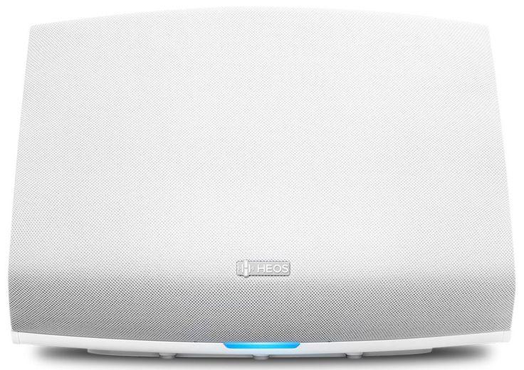 Denon HEOS 5 HS2 White  Description: Denon HEOS 5 HS2: Draadloze speaker wit Deze witte Denon HEOS 5 HS2 draadloze speaker is net als de zwarte variant de ideale combinatie tussen een geweldig geluid en een strak en fraai design. Deze speaker heeft een handig handvat is niet te groot maar geeft een weergaloos geluid. Deze Denon Heos 5 is geschikt voor middelgrote tot grote ruimtes zoals eetkamers grote slaapkamers en kantoren maar natuurlijk ook kleine(re) woonkamers. Deze luidspreker…