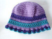 Cappellino bambina in morbida lana merino