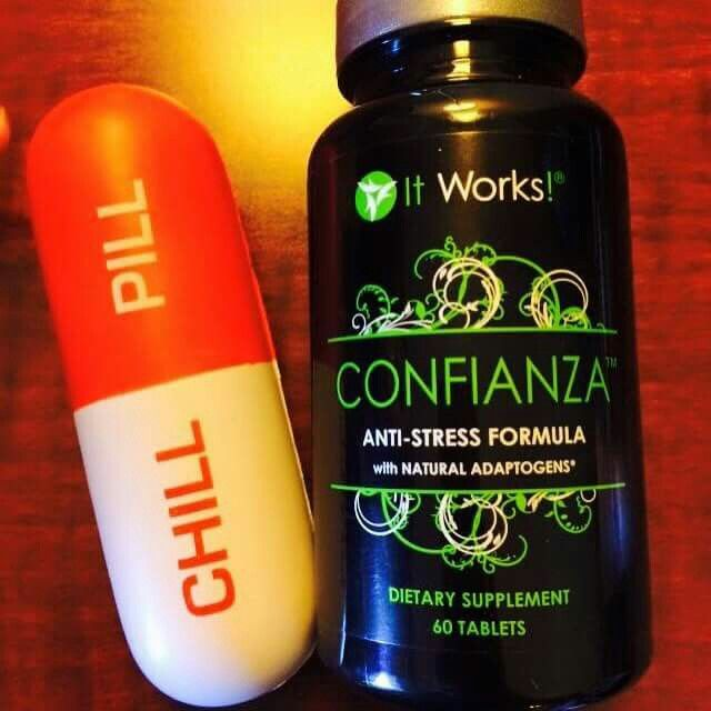 "U stressed out?? The ""CHILL PILL"" is ✅ Anti-stress formula ✅ Made with natural adaptogenic herbs ✅ Improves mental focus & concentration ✅ Helps the body cope with physical stress ✅ Provides energy and reduces fatigue ✅ Helps restore body balance Let me help u concentrate & #Focus!! Message me to get 40% off!! #StressFree www.newwrapcraze.com"