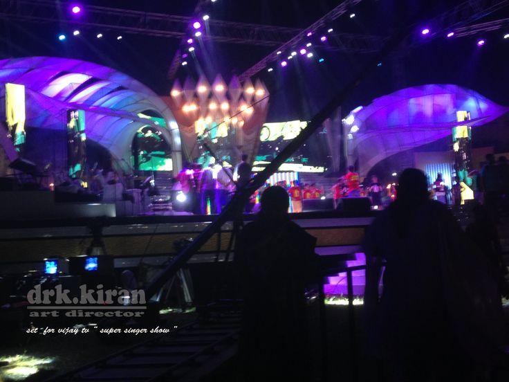 super singer live show set