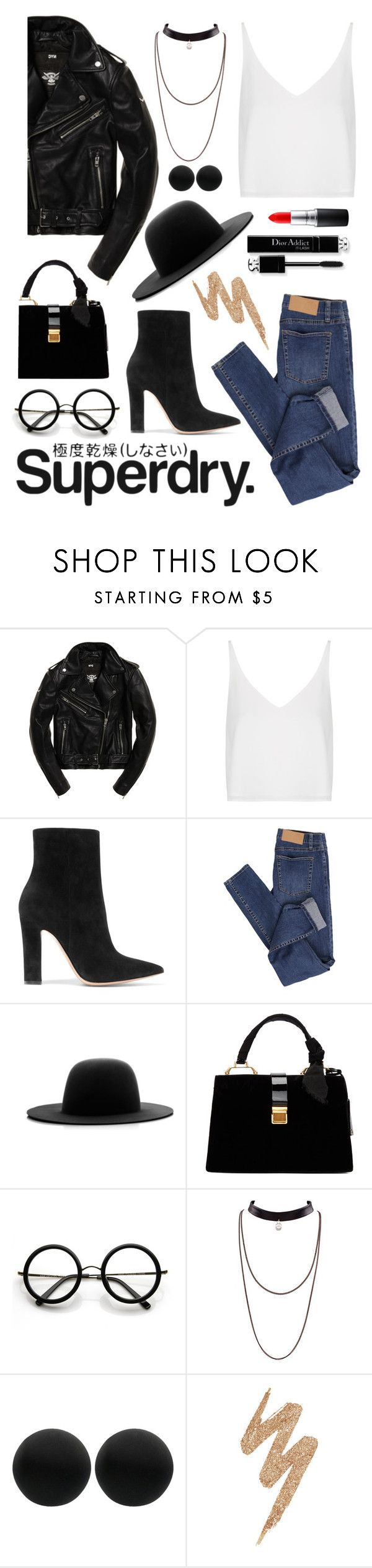 """""""The Cover Up – Jackets by Superdry: Contest Entry"""" by dn-dffn ❤ liked on Polyvore featuring Topshop, Superdry, Gianvito Rossi, Cheap Monday, Études, Miu Miu, ZeroUV, Thomas Sabo, Urban Decay and MAC Cosmetics"""