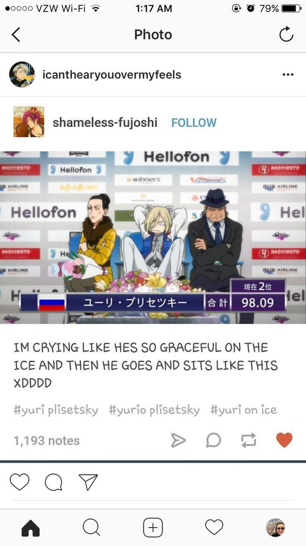 Yurio Yuri!!! on ice :)