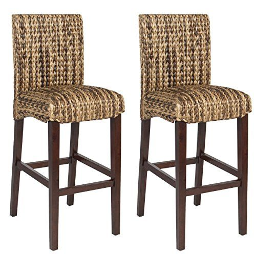 Best Choice Product BCP Set of (2) Hand Woven Seagrass Bar Stools Mahogany Wood Frame Bar Height Best Choice Products http://www.amazon.com/dp/B01CTKJTTG/ref=cm_sw_r_pi_dp_IDQ-wb06TBCPS