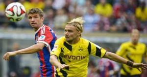 Thomas Müller es uno de los mejores jugadores del Bayern Munich. August 20, 2014.